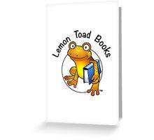 Lemon Toad Books Logo Greeting Card
