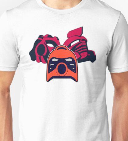 MASK OF FIRE Unisex T-Shirt