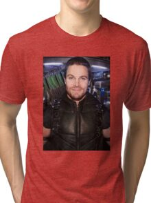 Arrow - New Lair and Suit Tri-blend T-Shirt