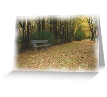 Avenue, Hill End Greeting Card