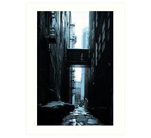The Alleys of Denver Art Print