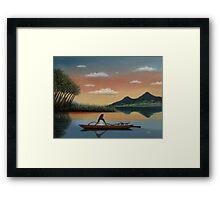Tahitian Morning Framed Print
