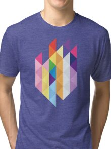 My Little Pony - Mane Six Abstraction I Tri-blend T-Shirt