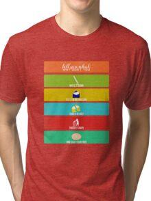 Cabin Pressure: Shut Your Face! Tri-blend T-Shirt