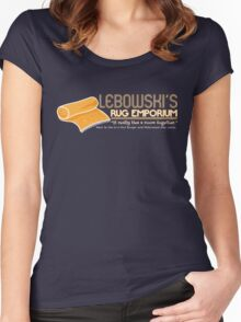 Lebowski's Rug Emporium Women's Fitted Scoop T-Shirt