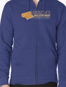 Lebowski's Rug Emporium Zipped Hoodie