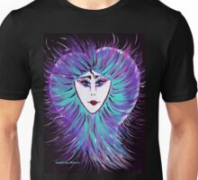 Snowflake - Woman Face Art by Valentina Miletic Unisex T-Shirt