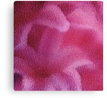 Abstract Pink Lily flower Canvas Print