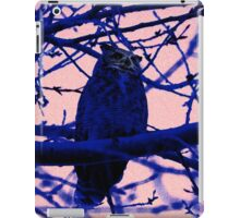 Owl in the Shadows iPad Case/Skin