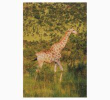 reticulated giraffe - pilanesburg, south africa Kids Tee