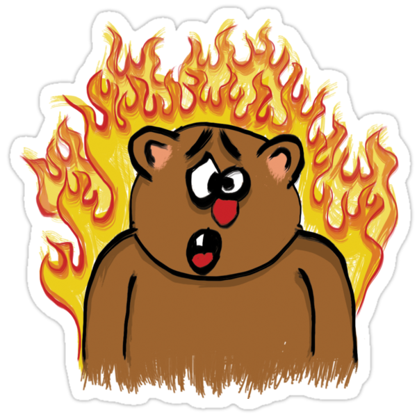 BEAR FIRE! by boltage69
