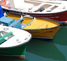 Boats, San Sebastian (Spain) by Kate Powick