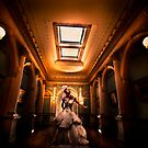 Bride at Werribee Park Mansion by Andrew (ark photograhy art)