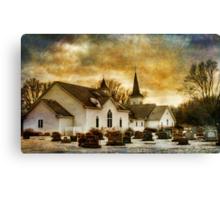 The Community Church Canvas Print