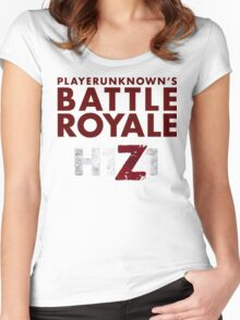 H1Z1 BATTLE ROYALE Women's Fitted Scoop T-Shirt