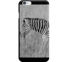 black stripes, white stripes iPhone Case/Skin