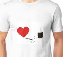 Sewn up tight Unisex T-Shirt