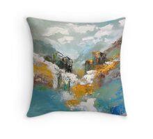 Rocky Point of View Throw Pillow