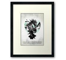 Skyrim - Dragonborn Framed Print