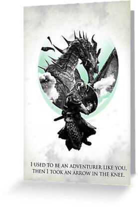 Skyrim - Dragonborn by haeryism