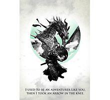 Skyrim - Dragonborn Photographic Print