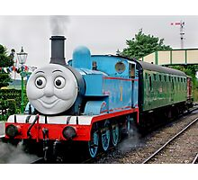 Thomas Waits For His Passengers ! Photographic Print
