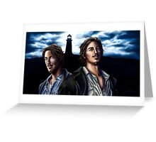 Duke Crocker Greeting Card