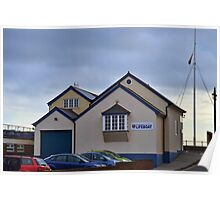 Sidmouth Lifeboat Station Poster