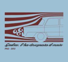 Alfa Romeo Giulia: l'ha disegnata il vento (designed by the wind) One Piece - Short Sleeve