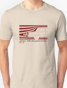 Alfa Romeo Giulia: l'ha disegnata il vento (designed by the wind) Unisex T-Shirt