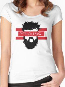 Bearded Wingdings Women's Fitted Scoop T-Shirt