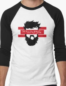 Bearded Wingdings Men's Baseball ¾ T-Shirt