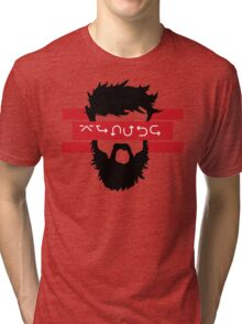 Bearded Wingdings Tri-blend T-Shirt