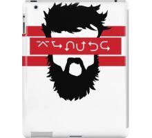 Bearded Wingdings iPad Case/Skin