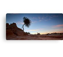 Morning Has Broken - Mungo, NSW Canvas Print