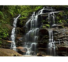 Sylvia Falls - Blue Mountains NP, NSW Photographic Print