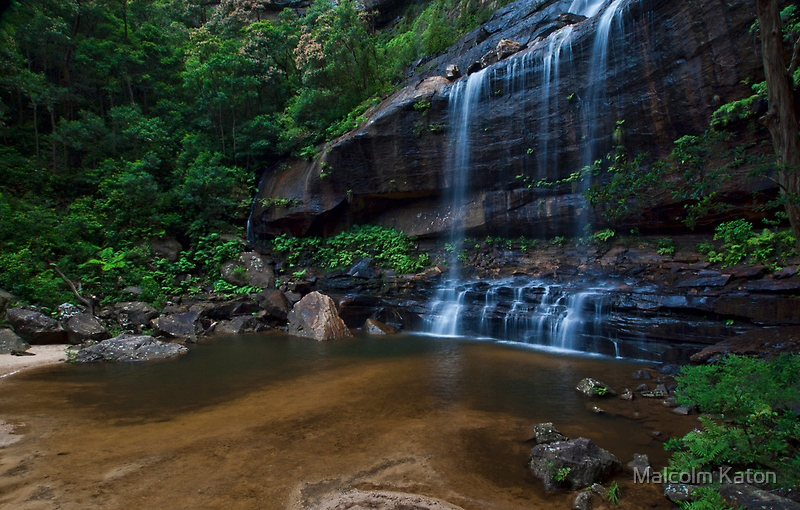 Wentworth Falls - The Base by Malcolm Katon