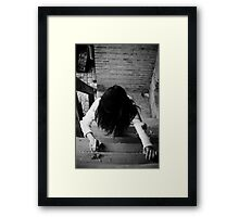 The Grudge - tribute Framed Print