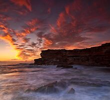 Little Bay, NSW by Malcolm Katon