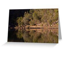 Reflections at the Basin - Bents Basin, NSW Greeting Card