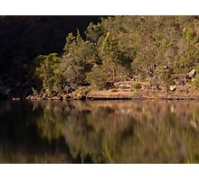 Reflections at the Basin - Bents Basin, NSW Photographic Print