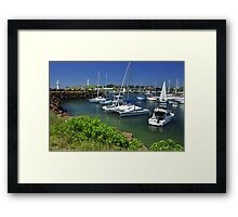 Wollongong Harbour Framed Print