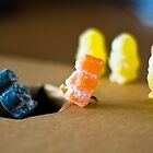 Jelly Babies do... '300'  by Brian Barnett