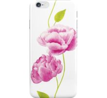 Peonies in the Orangery iPhone Case/Skin