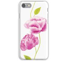 Peonies in the Orangery iPhone Case/Skin