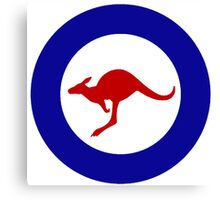 Roundel of the Royal Australian Air Force Canvas Print