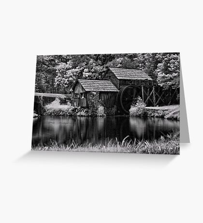 Mabry's Mill In IR Greeting Card