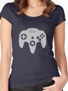 Nintendo 64 Controller Icon - N64 Women's Fitted Scoop T-Shirt