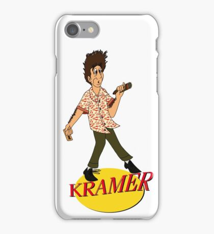 Kramer Cartoon iPhone Case/Skin