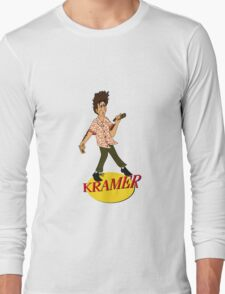 Kramer Cartoon Long Sleeve T-Shirt